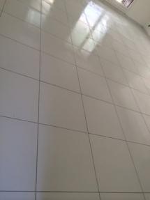 Carrelage blanc sol